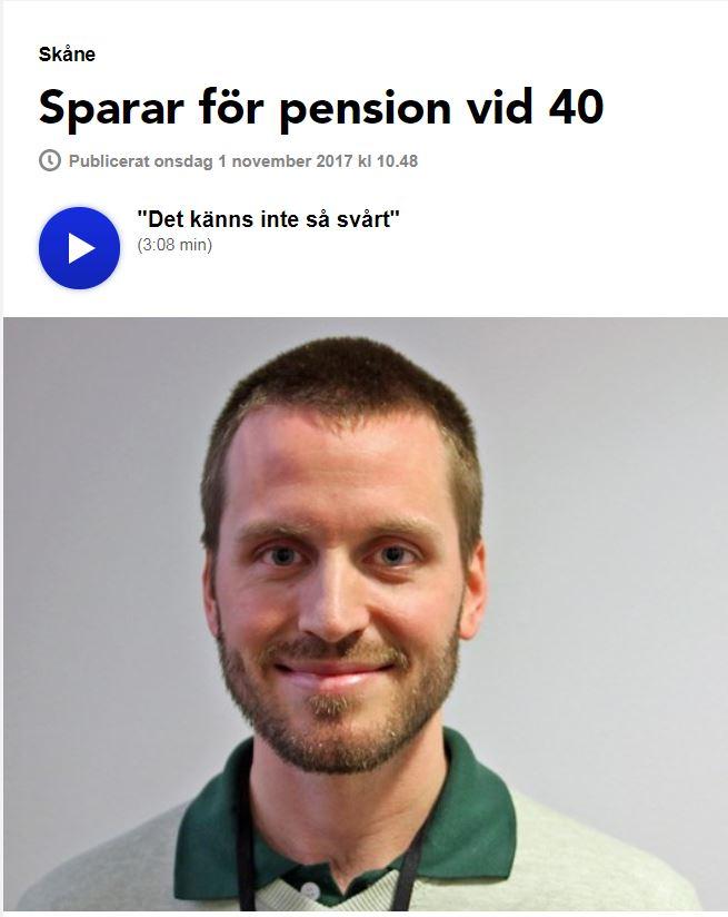 Eric hos SR Malmöhus