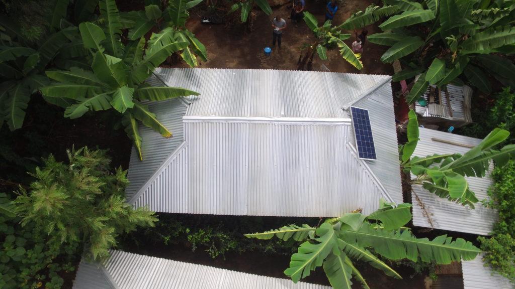 TRINE solpanel på tak