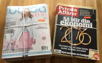 Spartips – tidskrifter