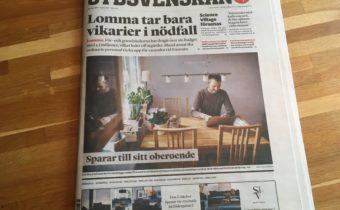 Artikel i Sydsvenskan med kommentarer